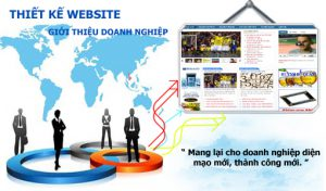 Thiết kế website doanh nghiệp