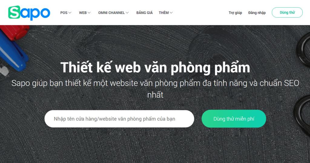 Công ty thiết kế web SAPO