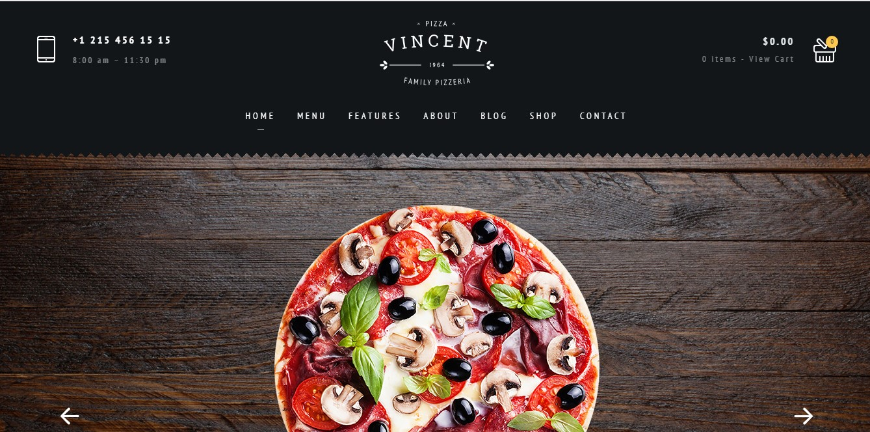 Website bán pizza