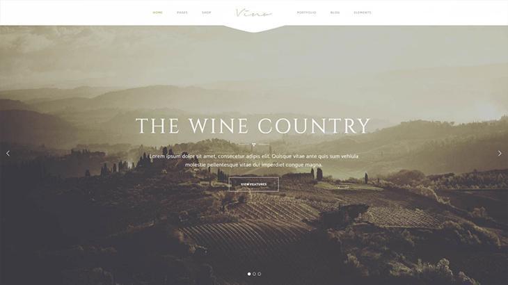 Website cho những bữa tối sang trọng cùng với rượu