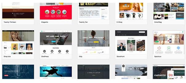 Thư viện giao diện WordPress