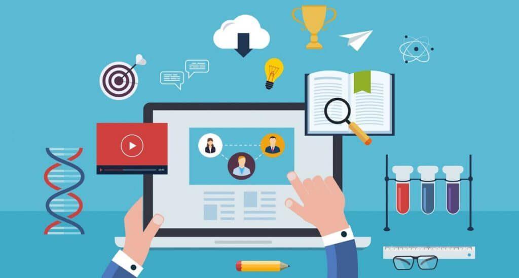 website bán khóa học online