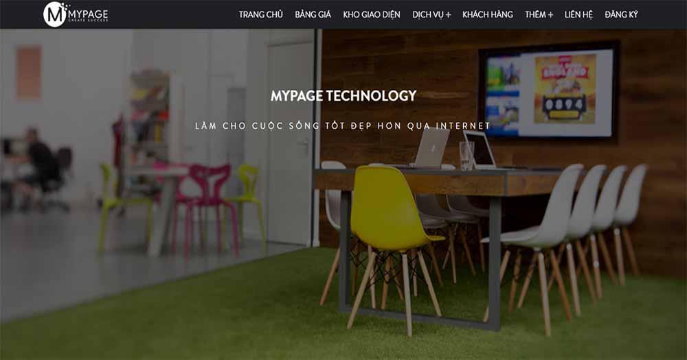 Công ty thiết kế web MyPage