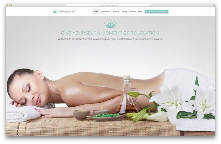 Tiêu chí lựa chọn mẫu website spa
