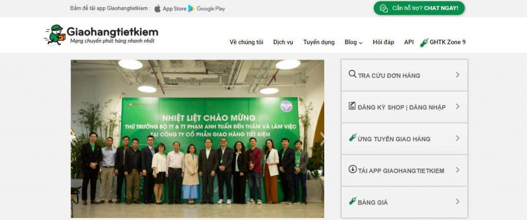 Giaohangtietkiem.vn: Dịch vụ vận chuyển phát hành nhanh