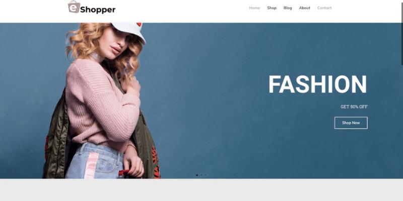 20+ mẫu website bán hàng