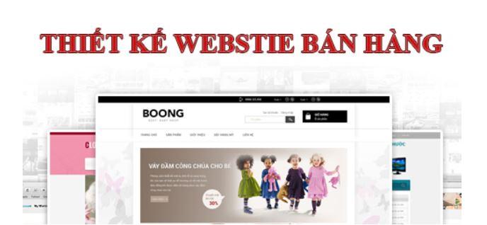 Phương thức thanh toán qua website.