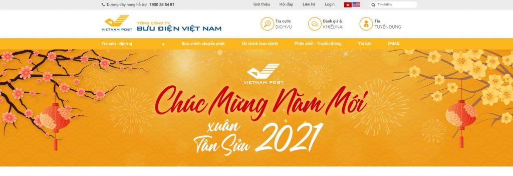 Vnpost.vn: Tổng công ty bưu chính Việt Nam