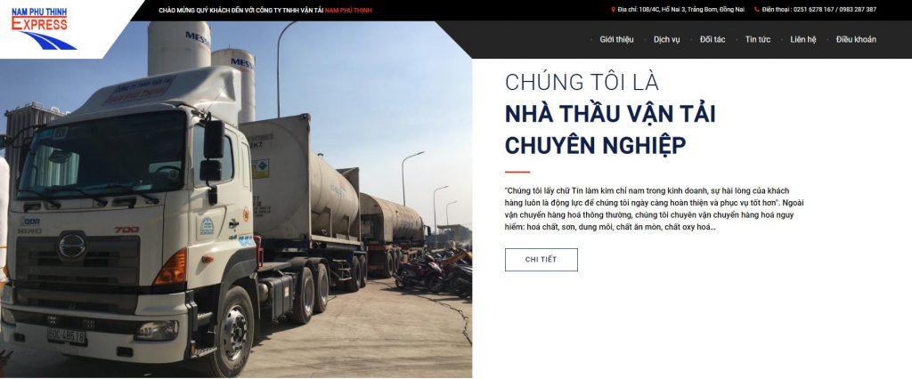 Công ty vận tải - vận chuyển hàng hóa Nam Phú Thịnh hàng đầu
